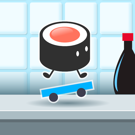 Sushi on a Skateboard - popular super simple fun games for free (2019) no wifi (Best Clicker Games 2019)