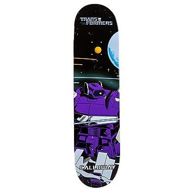 Primitive Transformers Calloway Shockwave Plateau de Skateboard Mixte Adulte, Multicolore