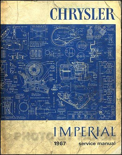 1967 Chrysler and Imperial Repair Shop Manual on CD
