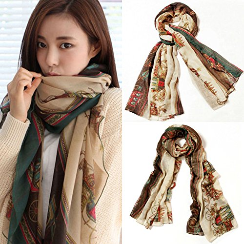 Fashion Lady Soft Neck Stole Carriage Scarf Scarves Women - Fashion New Pakistan