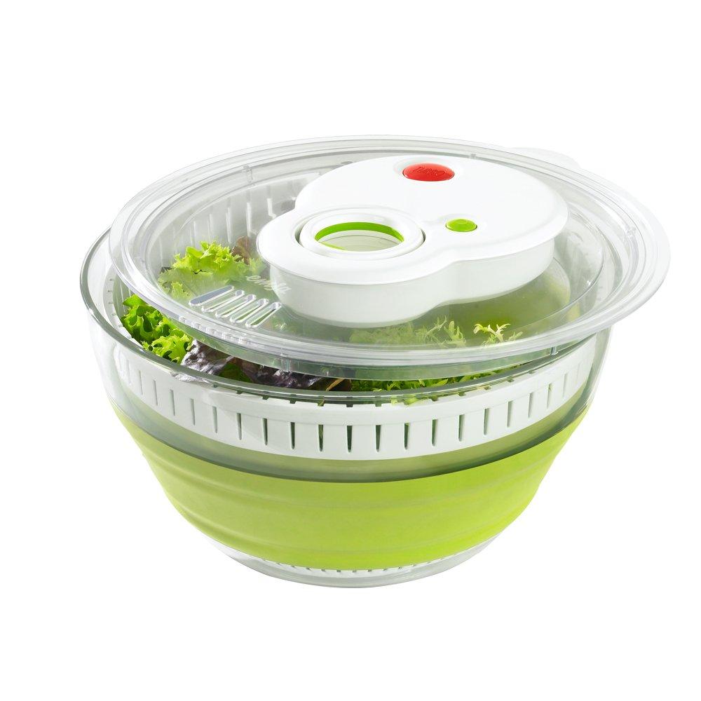 Emsa Germany Turboline Folding Salad Spinner 512991