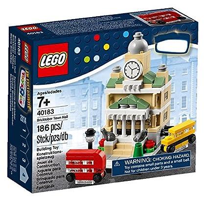 Amazon.com: LEGO Exclusivo set # 40183 bricktober Town salón ...