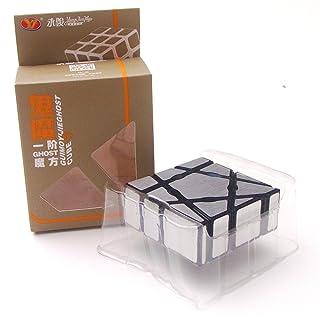 EasyGame 133 Magic Cube Irregular 1X3X3 Velocità Puzzle Rompicapo Giocattoli (Argento) .