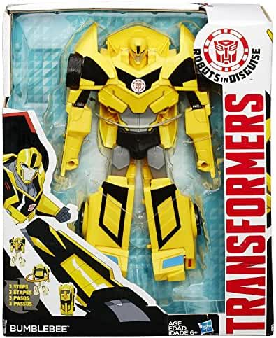 Transformers Robots in Disguise 3-Step Changers Bumblebee Figure(Discontinued by manufacturer)