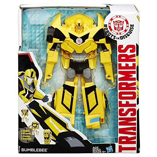 Transformers Robots in Disguise 3-Step Changers Bumblebee Fi...