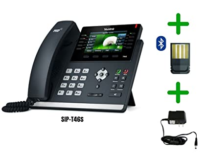 Amazon com : Yealink T46S SIP POE Office Phone Bundle with Power
