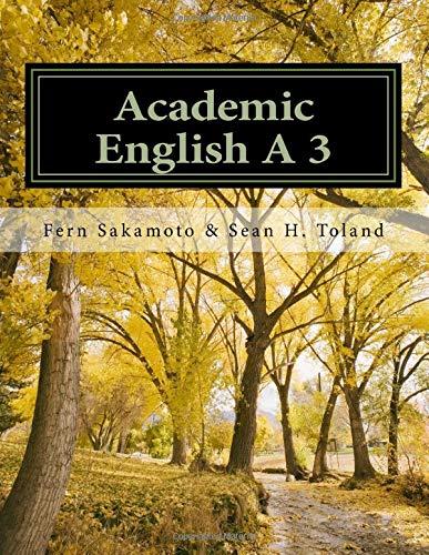Academic English A 3