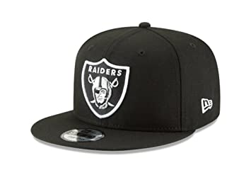 06dabe074ee New Era NFL Oakland Raiders Shield Logo Block Back Snapback Cap 9Fifty  NewEra