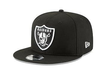 226b27cdb1b New Era NFL Oakland Raiders Shield Logo Block Back Snapback Cap 9Fifty  NewEra