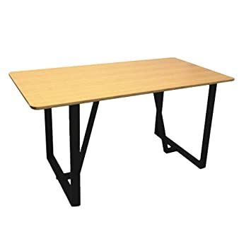 Homacer - Juego de 2 patas de mesa de metal, 71,1 x 68,5 cm ...