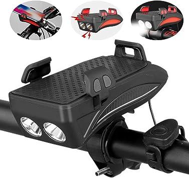 KuaiKeSport Soporte Movil Moto Bici con un Cuerno Energia Movil ...
