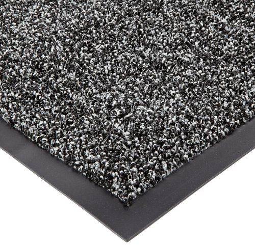 Notrax Non-Absorbent Fiber 231 Prelude Entrance Mat, for Outdoor and Heavy Traffic Areas, 2' Width x 3' Length x 1/4