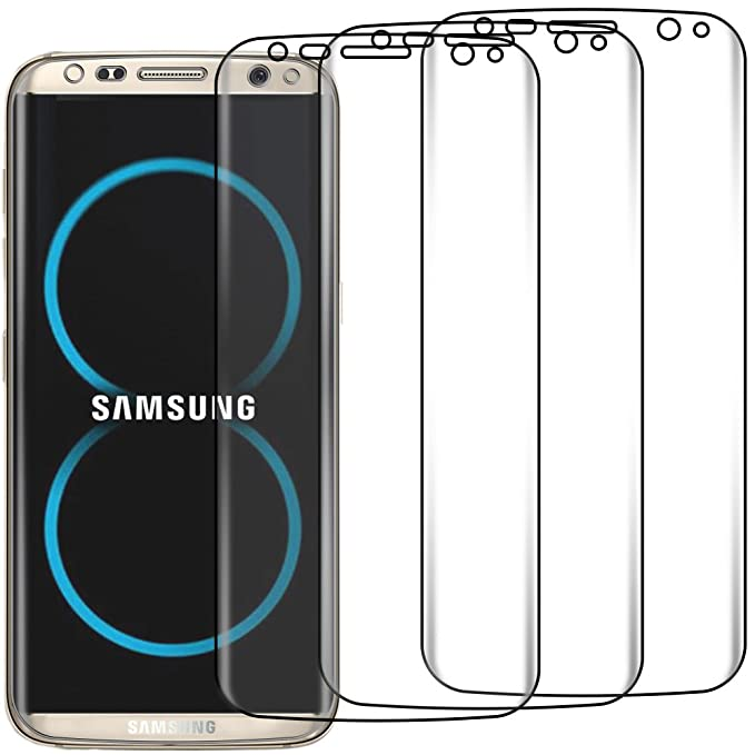 ebestStar - Funda Samsung Galaxy S8 PLUS Carcasa Transparente Silicona Gel Estuche Flexible, Transparente + Cristal [ Lote de 2 Unidades ] 3D Integral ...