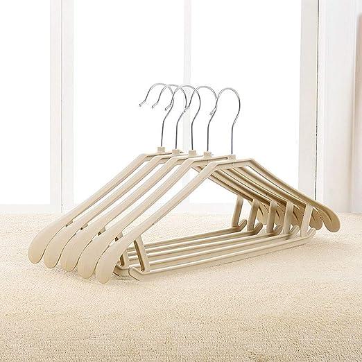 SYT Hangers Traje Percha Hombro Ancho de plástico ...