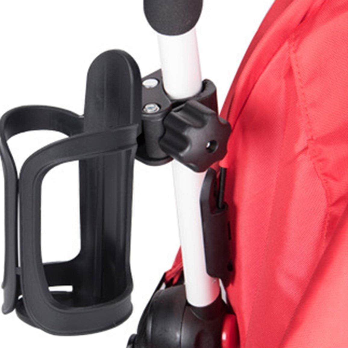 Color:Black Baby Stroller Accessories Cup Holder Cart Bottle Rack For Milk Water Pushchair Carriage Buggy Adjustable Black