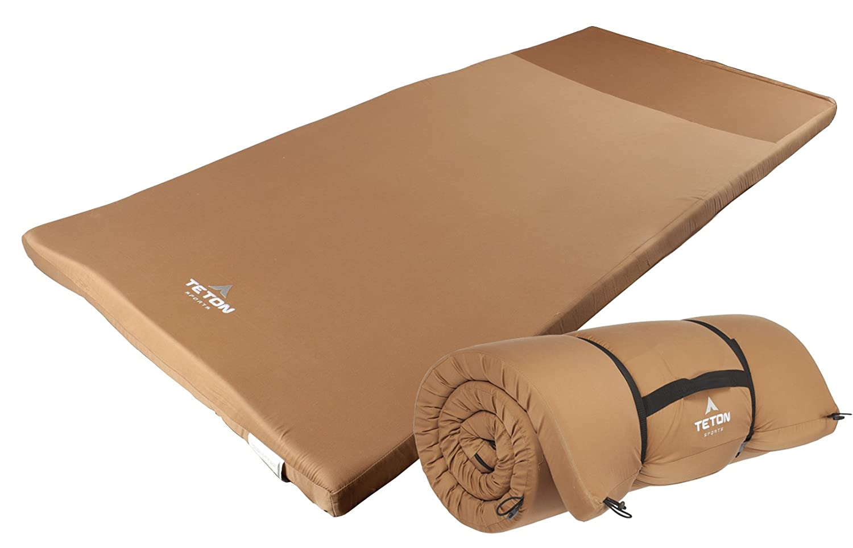 TETON Sports Campingfeldbett Auflage Outfitter, Braun, XXL, 20001304