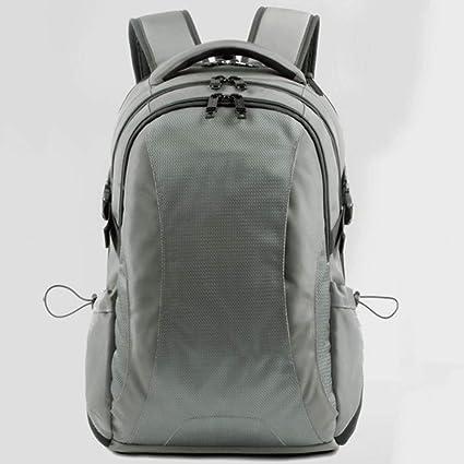 mochila Swiss Schoolbag Casual Business Travel Gran Capacidad para computadora (Gris)