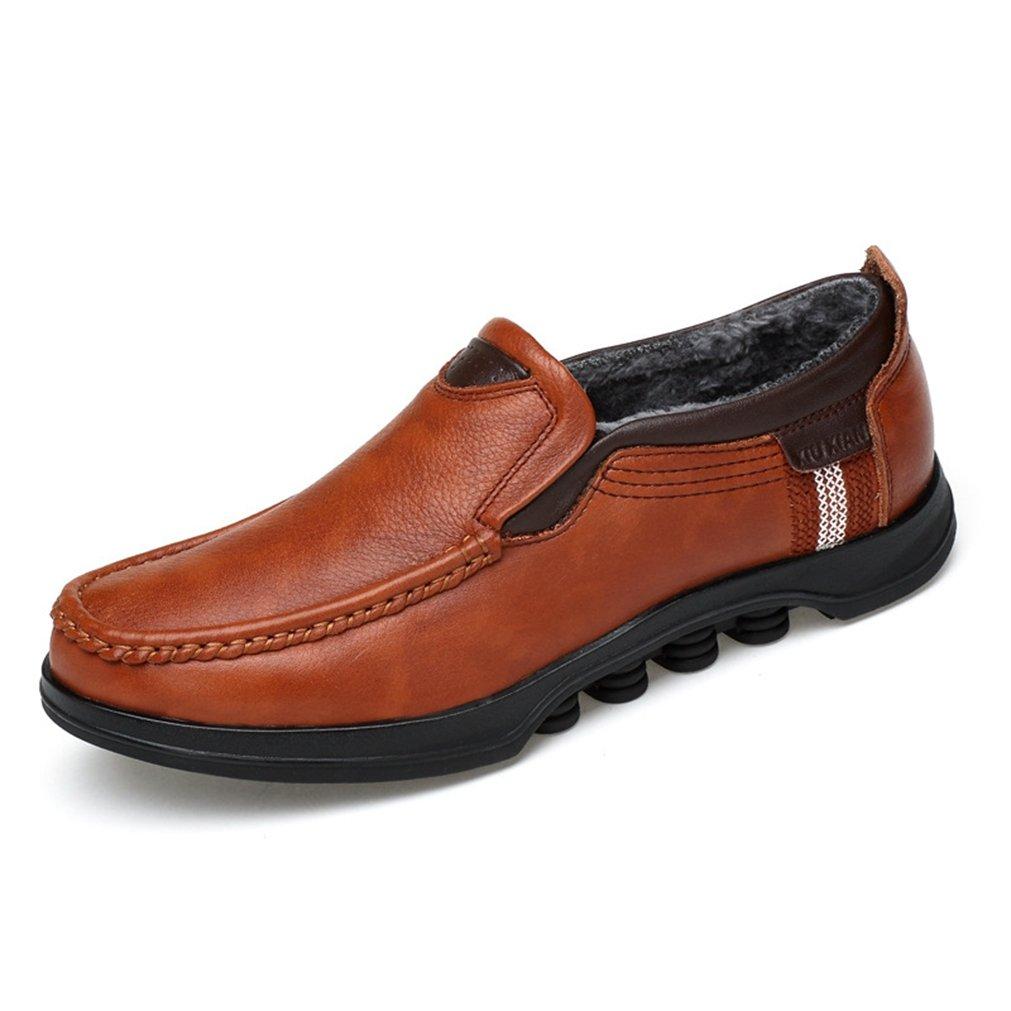 Feidaeu - Zapatos Hombre 38 EU|Hellbraun,Plus-Samt Zapatos de moda en línea Obtenga el mejor descuento de venta caliente-Descuento más grande