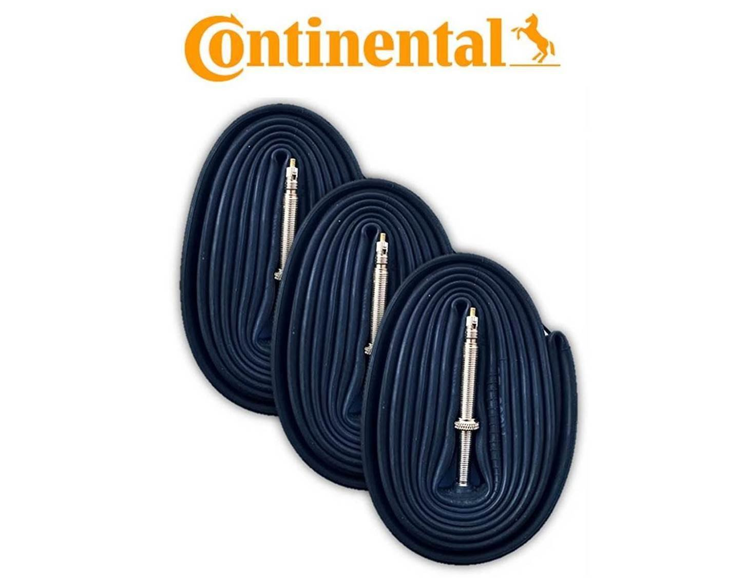 Continental Race 28 700 x 20-25c Tubes (Pack of 3) - Presta 60mm by Continental (Image #1)