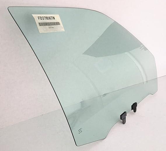 Driver Left Side Front Door Window Door Glass Compatible with Nissan Sentra 4 Door Sedan 1995-1999 Models