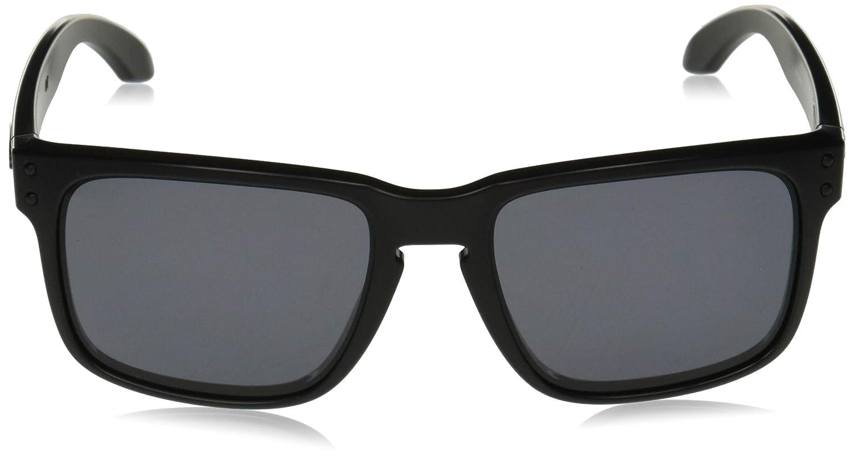 e8ff7cc6ea706 Amazon.com  Oakley Men s Holbrook Square Sunglasses Matte Black 57.0 mm   Clothing