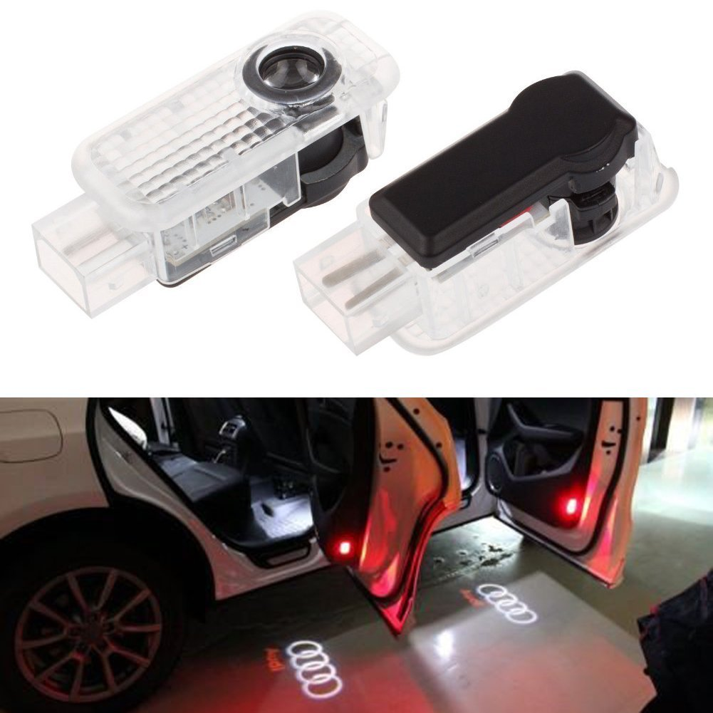 Excellent 2 Pcs Car Door Logo Welcome Lights Ghost Shadow Projector Welcome Lamps Led Car Lights Excellent Car Welcome Light