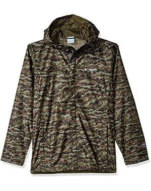 Men's Big & Tall Watertight Printed Jacket