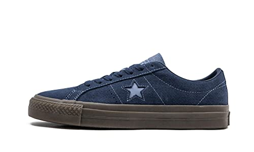 Converse One Star Pro OX Shoes NavyIndigo FogBrown
