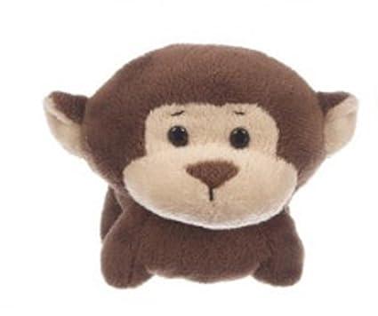 Amazon Com Li L Dimples Mini Soft And Cute Monkey Plush Toy By