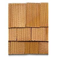 Dollhouse Miniature 1000 Piece Rectangle Cedar Shingles