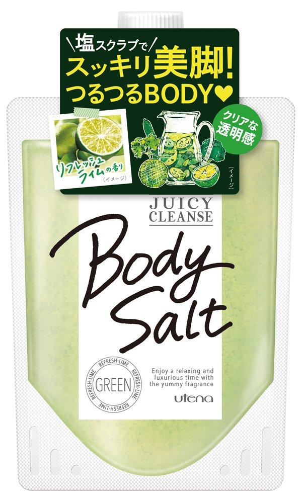 【ウテナ】 JUICY CLEANSE(ジューシィクレンズ) ボディソルト グリーンのサムネイル