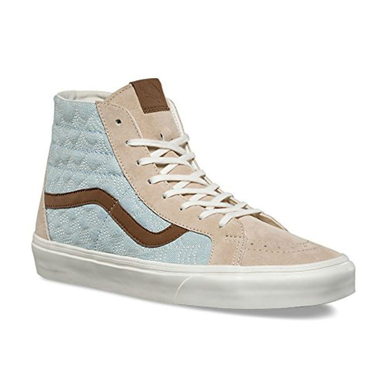 7a74f977f296 Vans Sk8-Hi Reissue DX Sneakers Pig Suede Denim  Khaki Mens 9.5 new ...