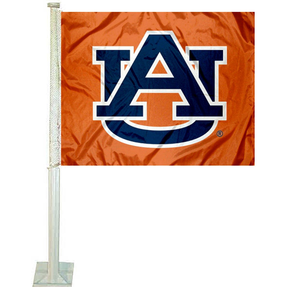 Auburn Tigers Orange Car Flag College Flags and Banners Co.