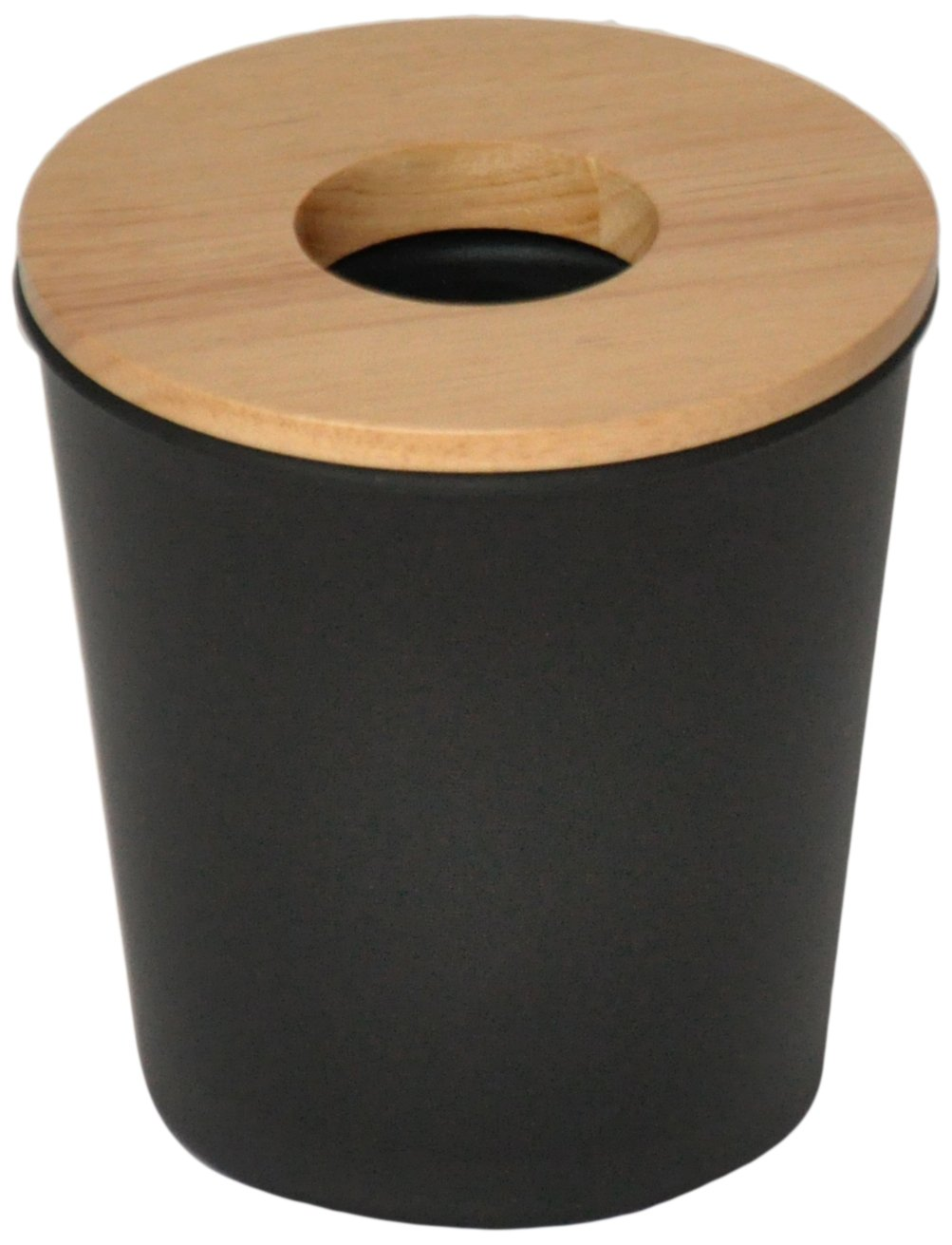 Opportunity 26b1512050170 Ebonite Mini Plastic Bin/13 x 13 x 14 cm Black Wood