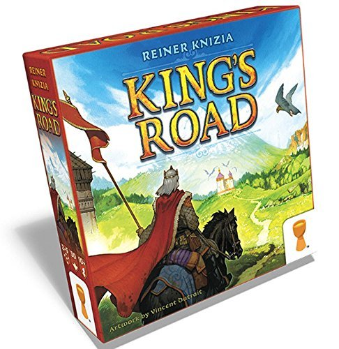 Grail Games King's Road Game Board Games [並行輸入品] B07SFDVYLN