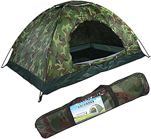 Camouflage Tent,Double Camping Tent Outdoor Camping,78.7x59