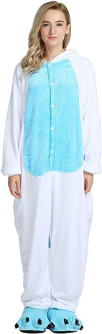 Kenmont Unicornio Juguetes y Juegos Traje Disfraz Animal Ropa de Dormir Cosplay Disfraces Pijamas para Adulto Niños (XL: 178-188CM, Búho)