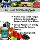 Antifungal-Soap-with-Tea-Tree-Oil-Helps-Treat-Wash-Away-Athletes-Foot-Ringworm-Nail-Fungus-Jock-Itch-Body-Odor-Acne-Antibacterial-Defense-Against-Bacteria-Related-Skin-Irritations-9oz