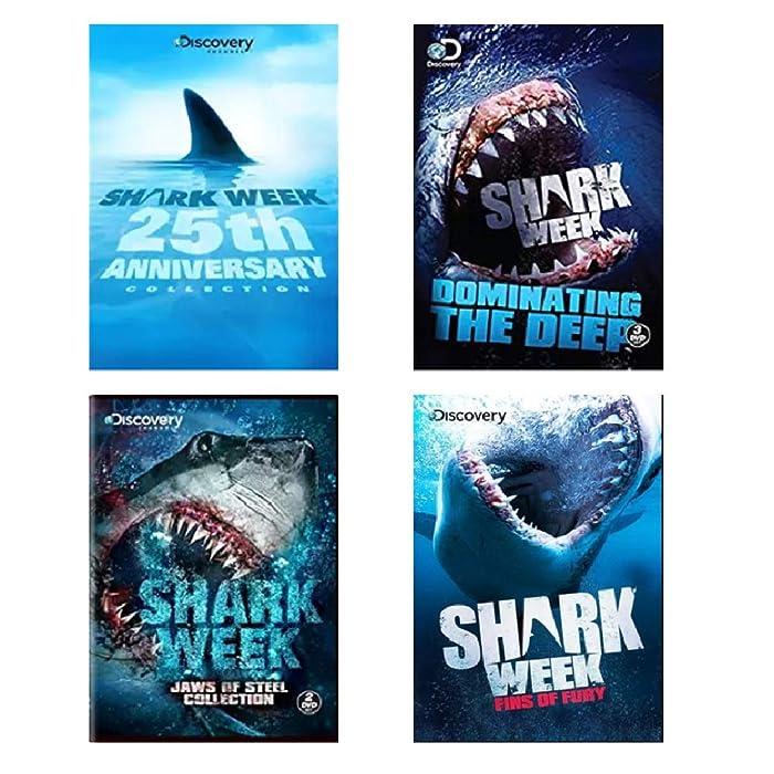 Top 5 Shark Week Fins Of Fury Dvd