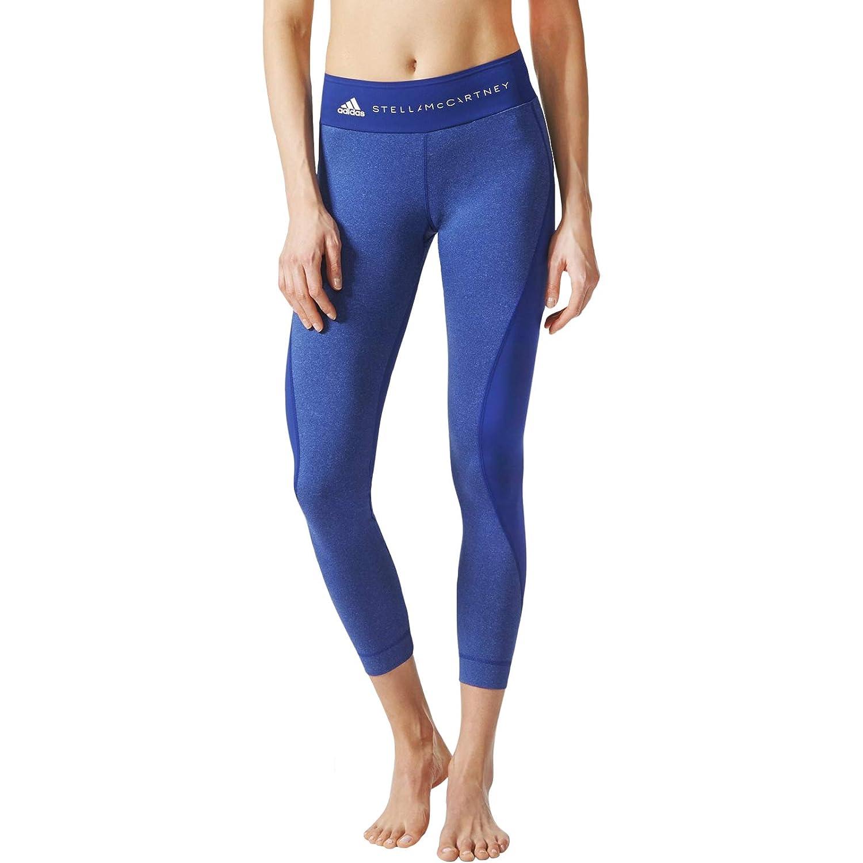 8d7f5defa000b adidas Performance Womens Stella McCartney Yoga Ultimate Comfort Leggings -  Blue at Amazon Women's Clothing store: