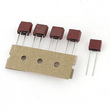 10 Stück 500 mA 250 V TE5.5TE T0.5A Mini Micro-TRÄGE SICHERUNG