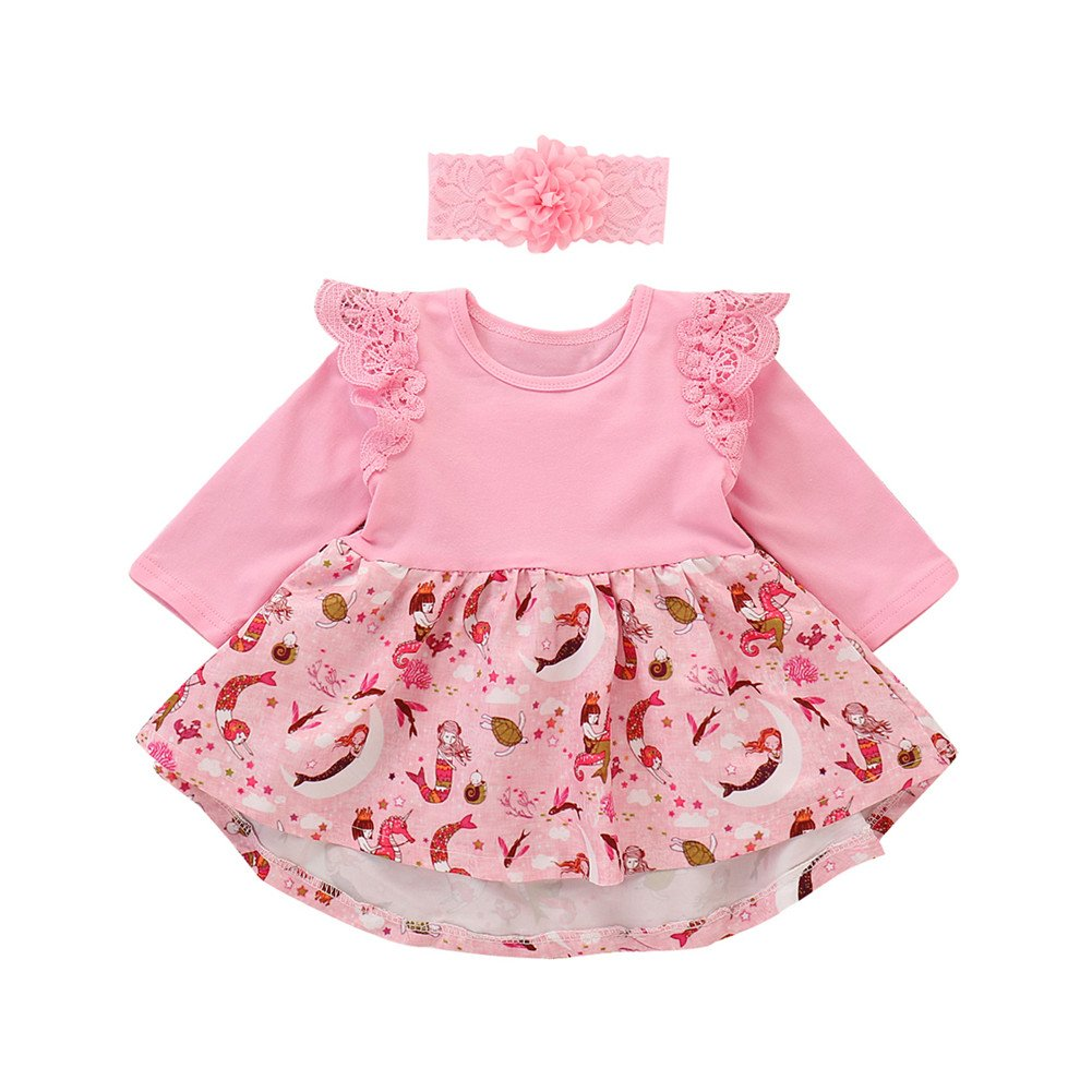 b80eaf361978 Infant newborn girl cotton floral romper jumpsuit purple romper dress  outfits for summer.