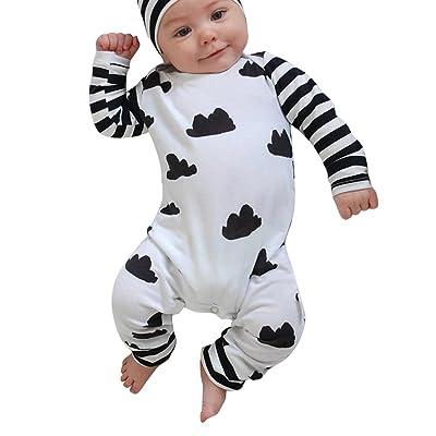 Domybest - Ensemble de pyjama - Bébé (garçon) 0 à 24 mois 0-6 M