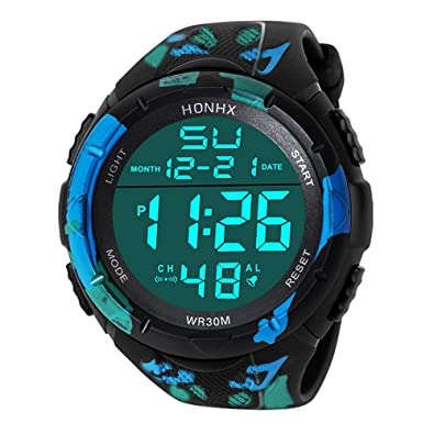 Amazon.com: Luxury Men Analog Digital Military Army Sport LED Waterproof Wrist Watch (A): Jewelry