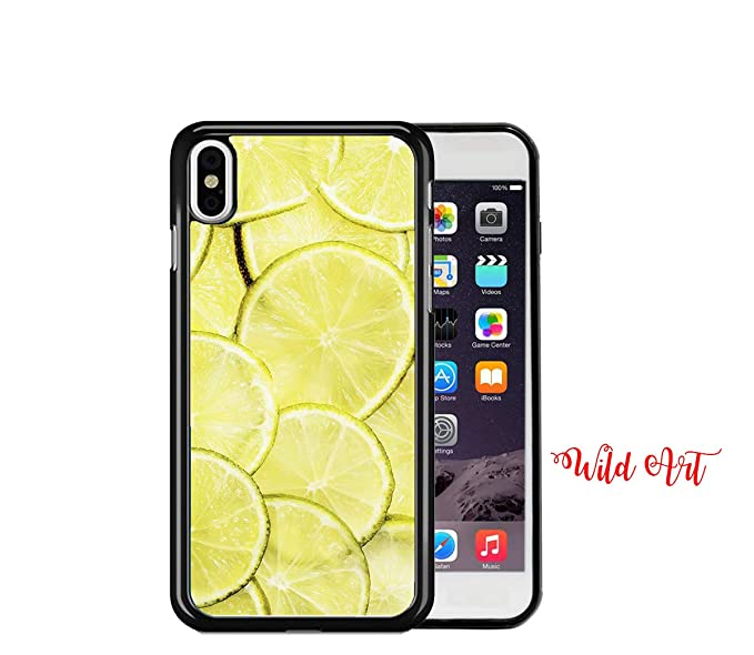 Amazon Com Iphone Xs Max Case Lime Lemons Wallpaper Fruit Summer