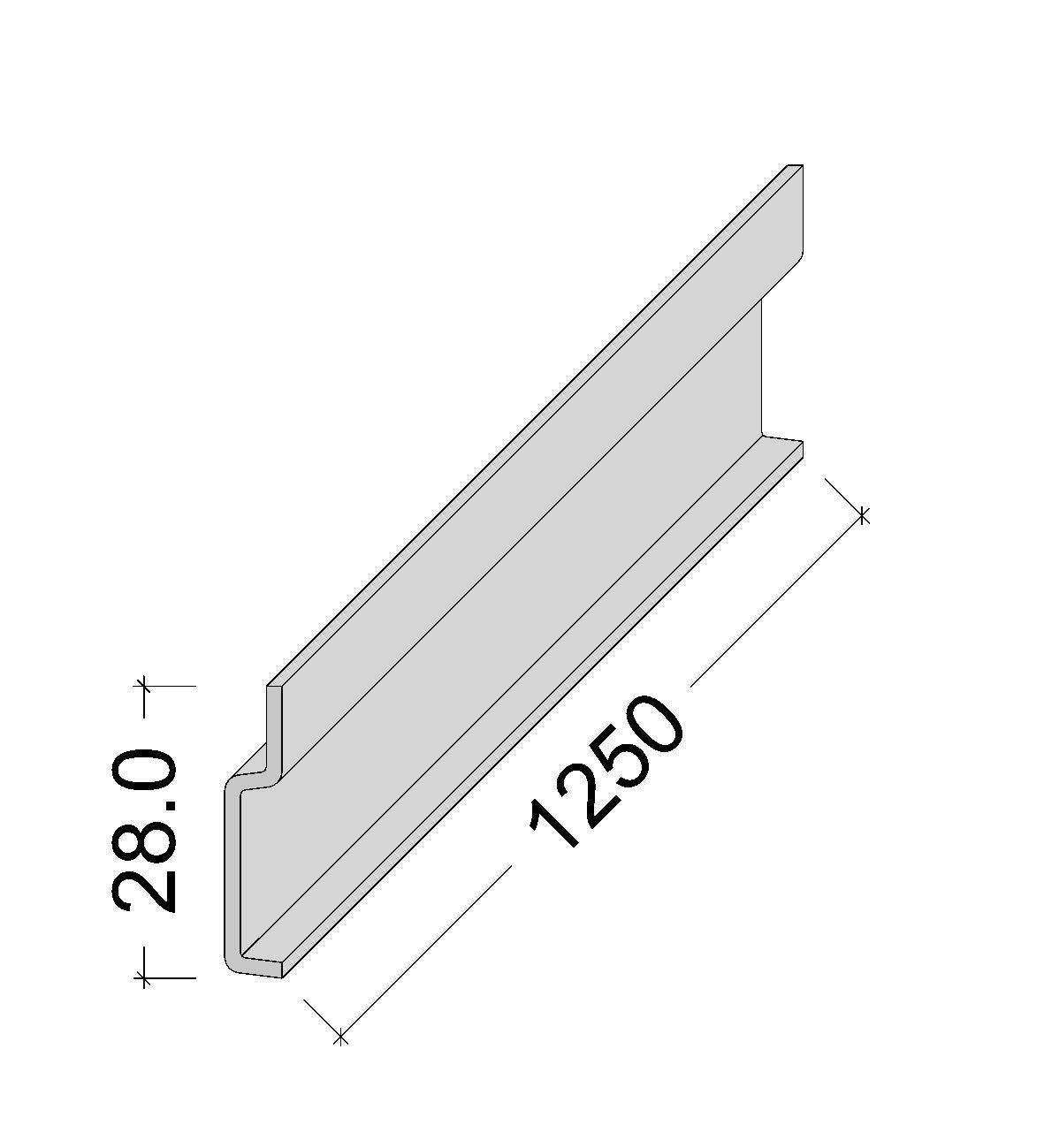 Tragkraft 240 kg Oberschrank Gedotec Wandschiene H/ängeschrank Schrank-Aufh/änger Aufh/ängeschiene Metall H/änge-Schiene ohne Schrauben Montageschiene mit L/änge 450 mm Stahl verzinkt 1 St/ück