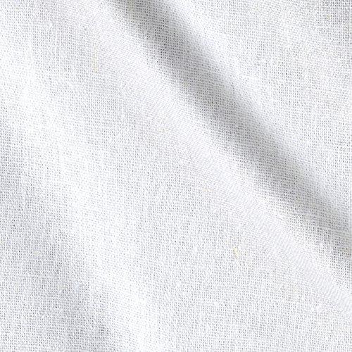 Ben Textiles Rayon Linen Blend White,
