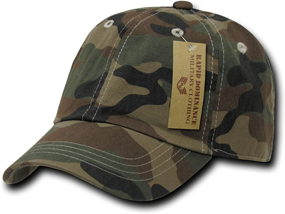 Rapiddominance Polo Cap, Woodland Camo: Clothing