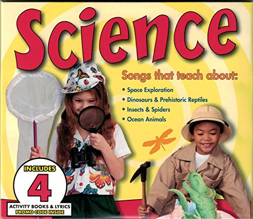 Science 4-CD Set - Space, Dinosaurs, Insects and Spiders, and Ocean Animals