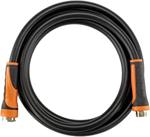 Giraffe Garden Hose,Water Hose Hybrid 5/8 in.x10FT, SwivelGrip/Heavy Duty/Lightweight/Flexible Lead-Hose